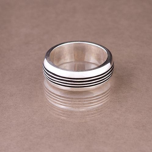 Carlos Diaz Sterling  Track Ring RG-0111