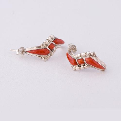 Zuni Inlay Earrings ER-0180