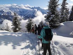Schneeschuhtour Tag