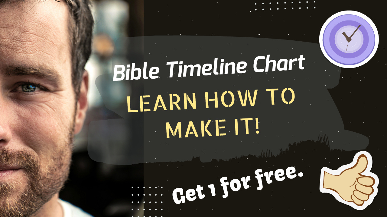 How to make a Bible Timeline Chart