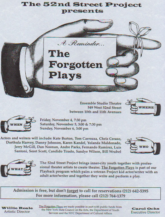 The Forgotten Plays
