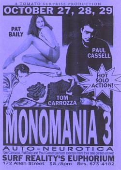 Monomania 3