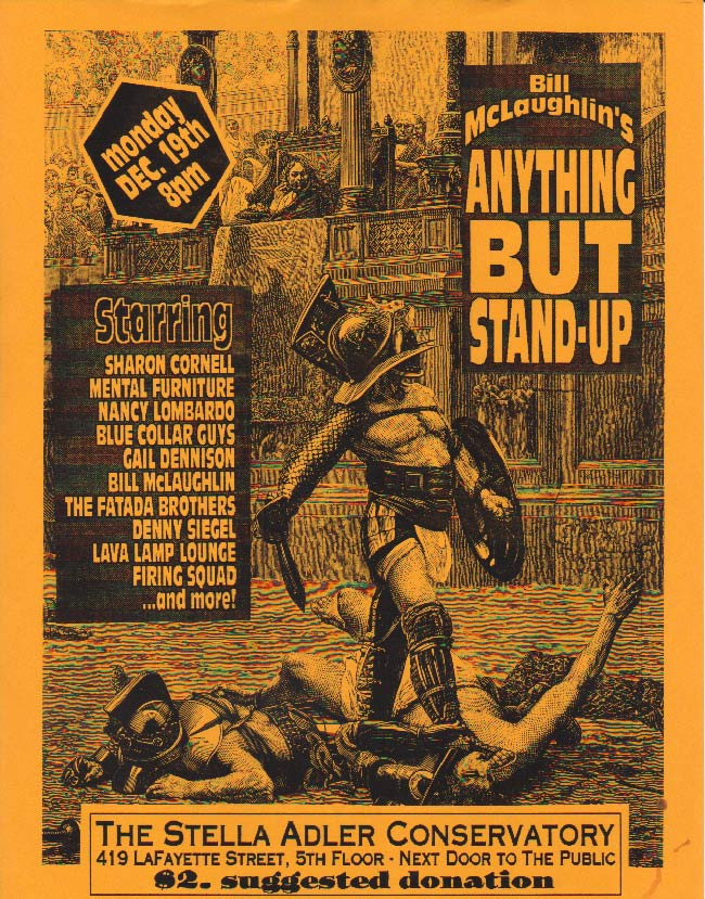 Anything But Stand-up