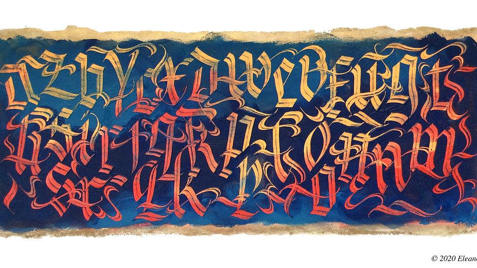 Alphabet Dance by Eleanor Winters