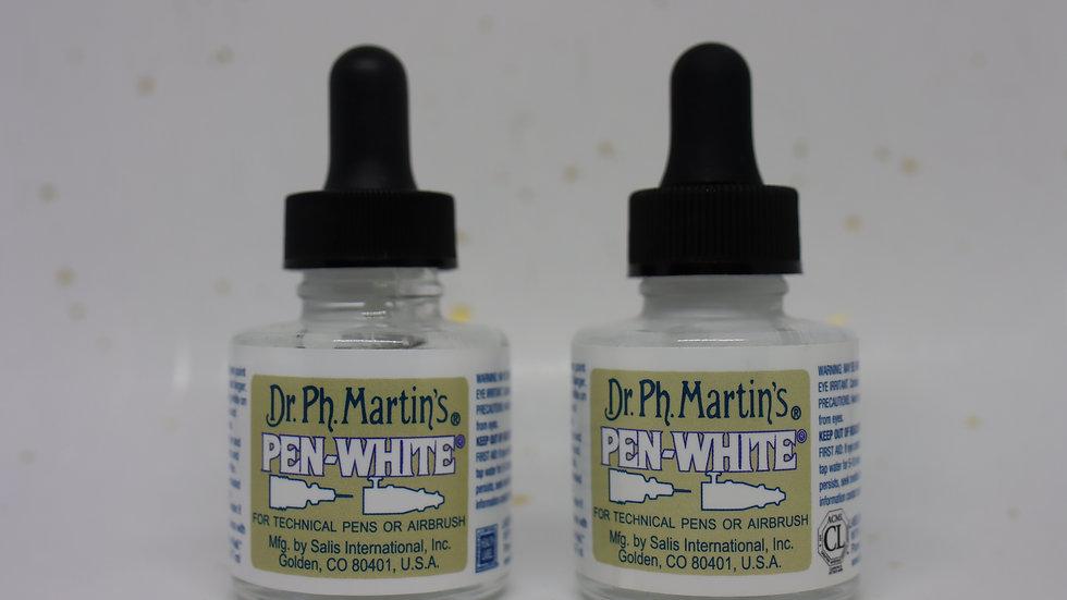 Dr. Ph Martin's Pen-White