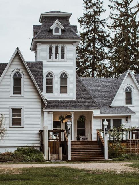 Peach Mansion Entry