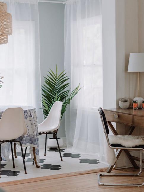 Desk & Sun Room