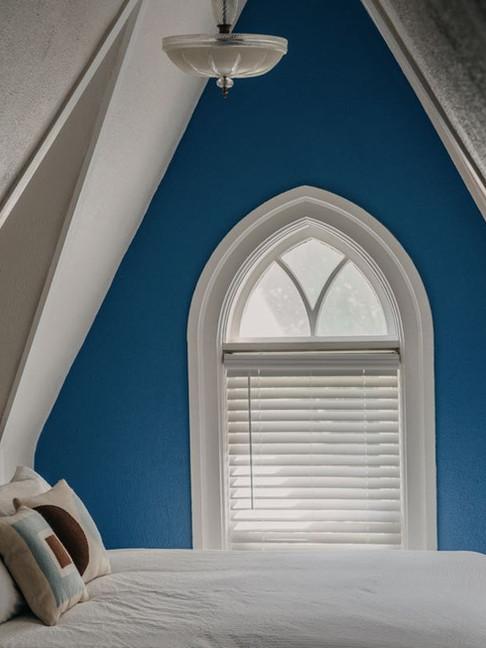 Blue Bedroom Queen Bed