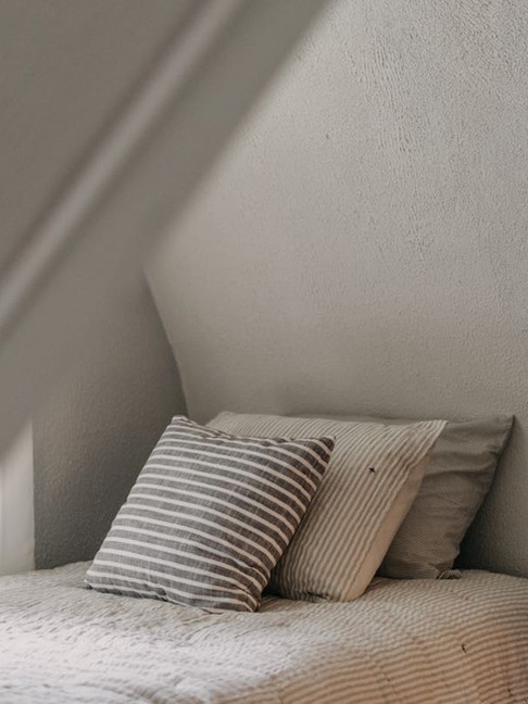 Blue Bedroom Twin Bed