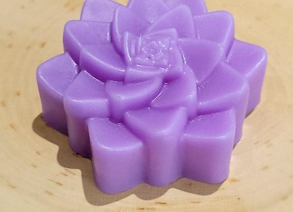 Purple Succulent Soap Bar