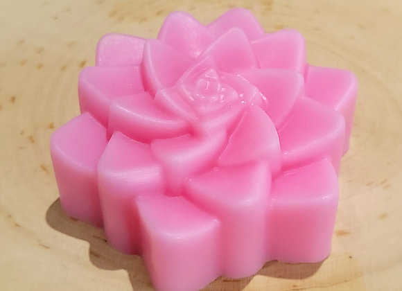 Pink Succulent Soap Bar