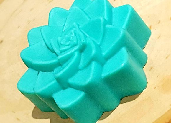 Green Succulent Soap Bar
