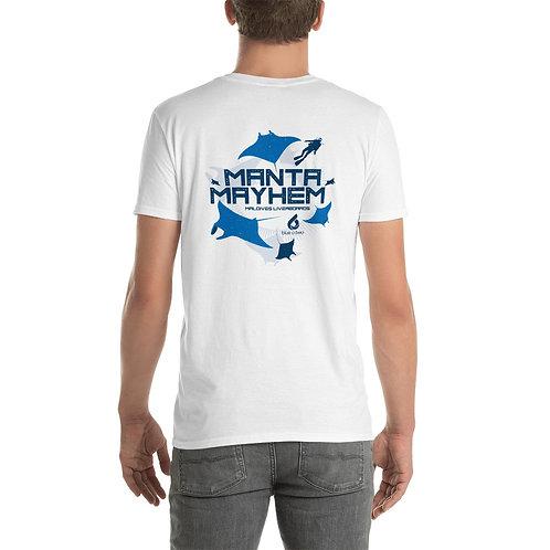 MANTA MAYHEM Men's Softstyle T-shirt - White