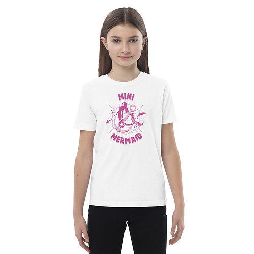 MINI MERMAID by Arwen Girls Organic Cotton T-shirt