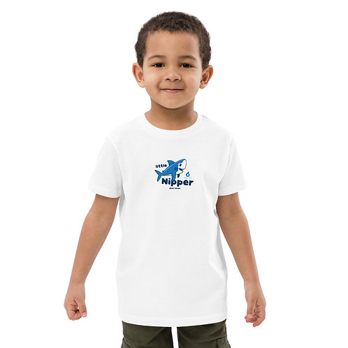 LITTLE NIPPER DIVE TEAM by Toby Boys Organic Cotton T-shirt