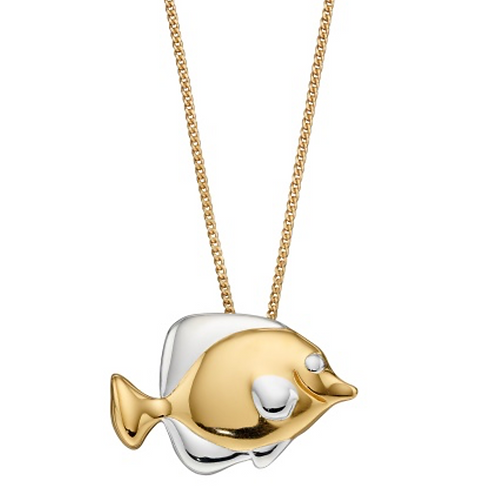 Gold plated Fish Necklace