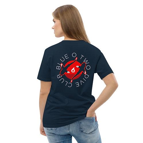 DIVE CLUB Women's Organic Cotton T-shirt