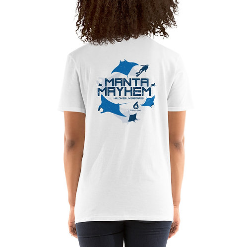 MANTA MAYHEM Women's Softstyle T-shirt - White