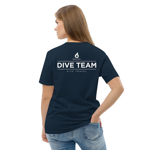 DIVE TEAM Women's Organic Cotton T-shirt
