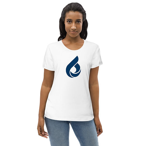 ICON LOGO Women's fitted eco tee