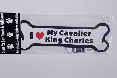 I love my Cavalier KC Magnet