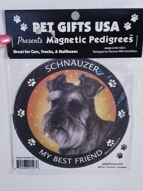 """Schnauzer magnet 3.5"""""""