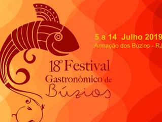 Semana do Festival Gastronômico de Búzios. Que tal?
