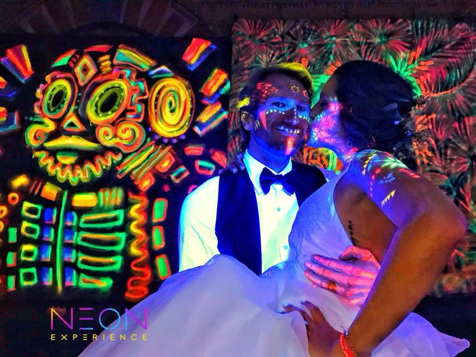 Ideas para bodas diferentes - Neon