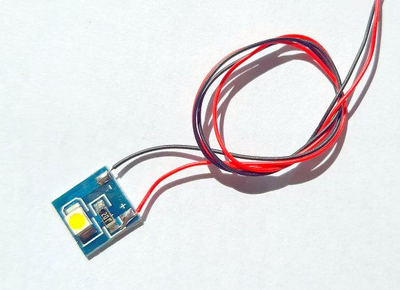 Platine / Basetta LED 3528 SMD 12 Vcc chaud / caldo