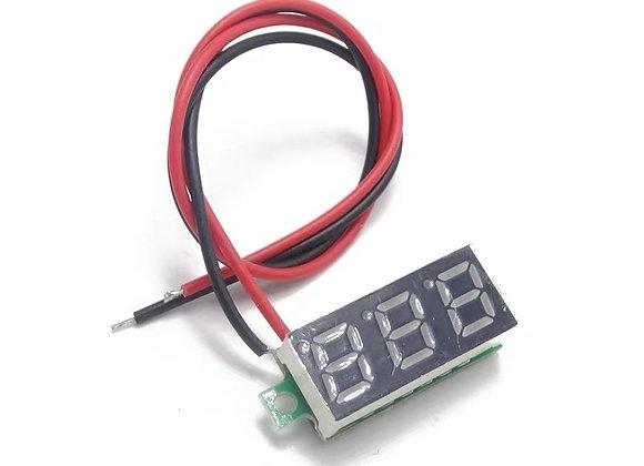 Mini voltmetre / Minivoltmetro  2,4 - 30 Vcc