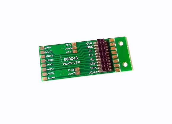 Platine / Basetta PluX22 NEM 658