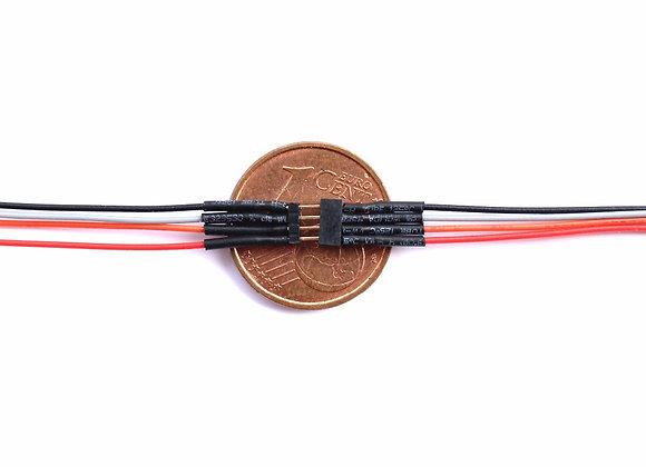 Connecteur 4 poles / Connettore 4 poli