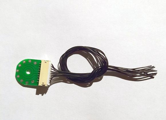 Connecteur 9 p. tender / Connettore 9 p. tender