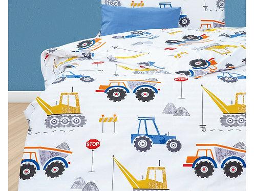 Παιδική Παπλωματοθήκη Casa Trucks