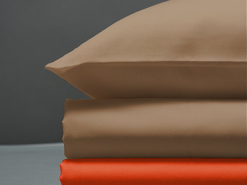 Παπλωματοθήκη Sand / Orange