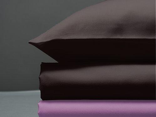 Παπλωματοθήκη Brown / Lilac