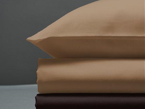 Παπλωματοθήκη Sand / Brown