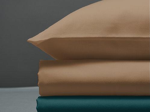 Παπλωματοθήκη Sand / Petrol Green