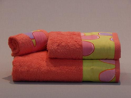 Πετσέτες Μπάνιου Deco Coral Daisy