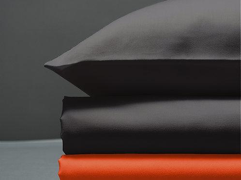 Παπλωματοθήκη Dark Grey / Orange