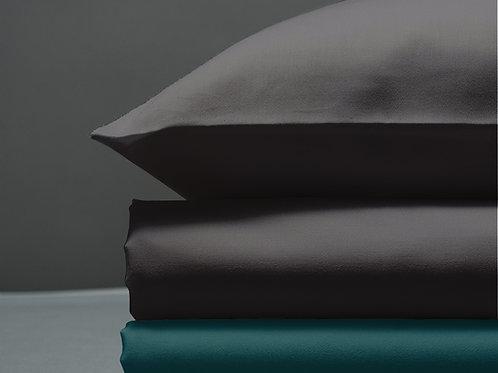 Παπλωματοθήκη Dark Grey / Petrol Green