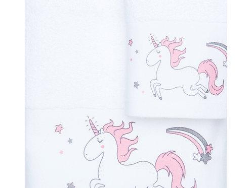 Παιδικές Πετσέτες Μπάνιου Casa Unicorn