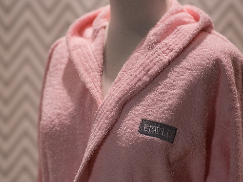 Bathrobe Smooth Pink