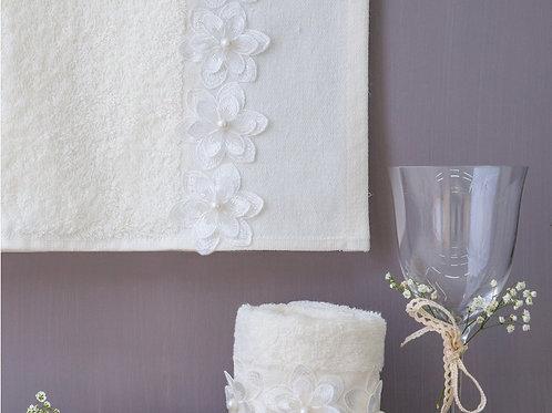 Πετσέτες Μπάνιου Wedding Daisy