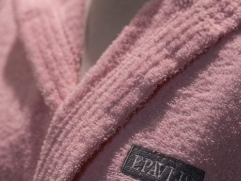 Children Bathrobe Smooth Pink