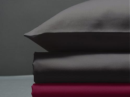 Παπλωματοθήκη Dark Grey / Aubergine