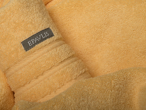 Epavlis Bath Towels - Smooth / Yellow