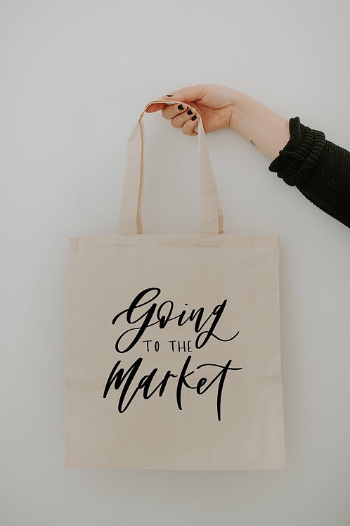Market Tote - Going to the Market