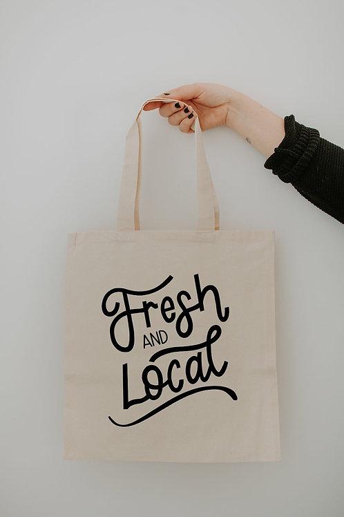 Market Tote - Fresh & Local