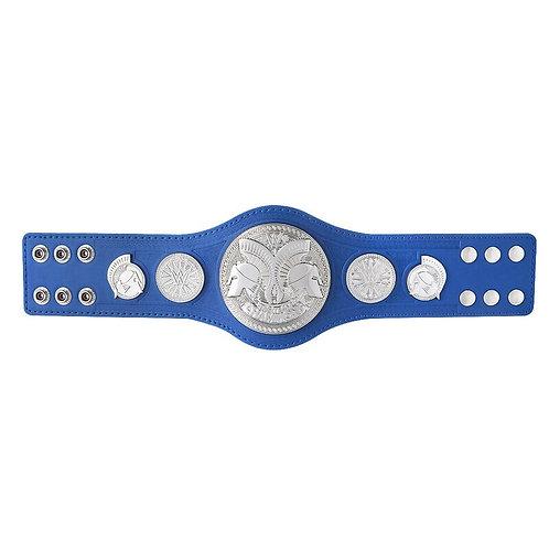 Mini Blue Smackdown Tag Team